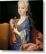Maria Anna Victoria Of Bourbon. The Future Queen Of Portugal Metal Print