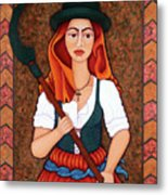 Maria Da Fonte - The Revolt Of Women Metal Print