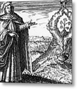 Maria The Jewess, First True Alchemist Metal Print