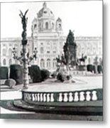 Maria Theresien Platz Metal Print