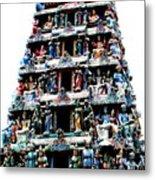 Mariamman Temple 1 Metal Print