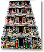 Mariamman Temple 3 Metal Print