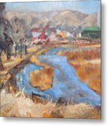 Marias Ranch Metal Print