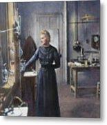 Marie Curie (1867-1934) Metal Print