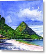 Marigot Bay St Lucia Metal Print