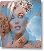 Marilyn 127 Tryp Metal Print by Theo Danella