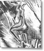 Marilyn Chrome Metal Print