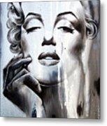 Marilyn Monroe Metal Print by Fatima Azimova