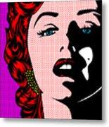 Marilyn02-2 Metal Print