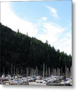 Marina In B.c. Metal Print