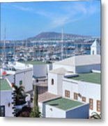Marina Rubicon - Lanzarote Metal Print