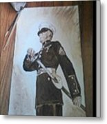 Marine Dress Metal Print