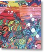 Marine Landscape Metal Print