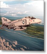 Marine Phantom Metal Print