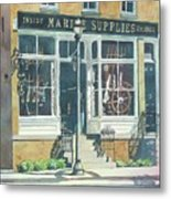 Marine Supply Store Metal Print