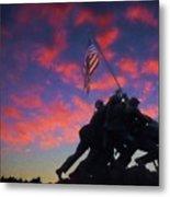 Marines At Dawn 2 Metal Print
