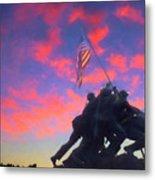 Marines At Dawn Metal Print