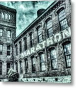 Marithon Car Manufacturing Facility In Nashville Metal Print