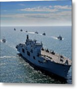 Maritime Forces From 17 Nations Metal Print