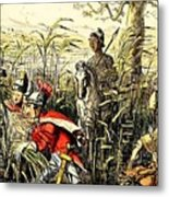 Marius Discovered In The Marshes At Minturn Metal Print