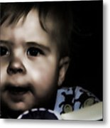 Mark In The Dark Metal Print
