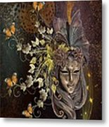 Mask Of The Wind Metal Print