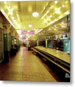 Market Day Is Done Metal Print