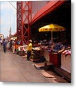 Market Georgetown Guyana Metal Print
