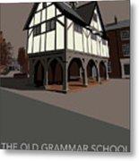 Market Harborough Grammar School Metal Print