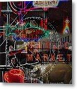 Market Medley Metal Print
