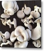 Market Mushrooms Metal Print