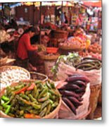 Marketplace Metal Print