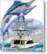 Marlin Commission  Metal Print