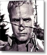 Marlon Brando As Lt. Diestl Publicity Photo The Young Lions 1958 Color Added 2016 Metal Print