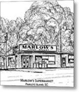 Marlows Market Metal Print