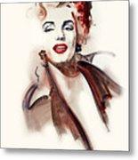 Marilyn Manroe Metal Print