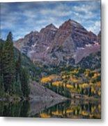 Maroon Bells Colorado Dsc06628 Metal Print