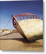 Marooned Boat Metal Print