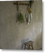 Marrakech Walls Metal Print