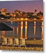 Marriott Lagoon Metal Print
