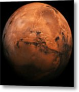 Mars The Red Planet Metal Print