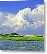 Marsh And Dunes Metal Print