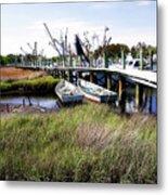 Marsh Harbor 2 Metal Print