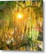 Willow Weep For Me Metal Print