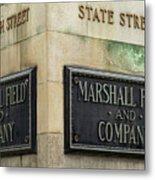 Marshal Field And Company Metal Print