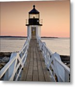 Marshal Point Glow Metal Print by Susan Cole Kelly