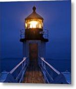 Marshall Point Light Station Metal Print
