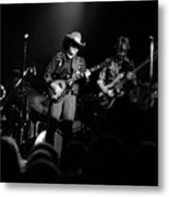 Marshall Tucker Winterland 1975 #12 Enhanced Bw Metal Print