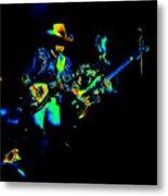 Marshall Tucker Winterland 1975 #14 Enhanced In Cosmicolors Metal Print