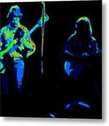 Marshall Tucker Winterland 1975 #18 Enhanced In Cosmicolors #2 Metal Print